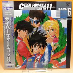 Future GPX Cyber Formula 11 (OVA) Round 6 VPLV-70223 LD LaserDisc NTSC JP AA398