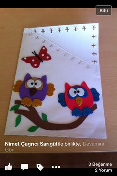 Karne süsleri Envelopes, Bird Crafts, Paper Gifts, Bird Feeders, Teacher Gifts, My Books, Crafts For Kids, Preschool, Classroom