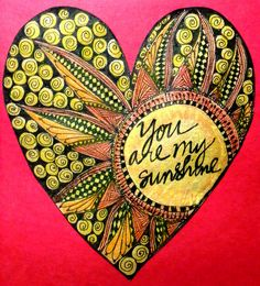 Art Journal Every Day: You are my sunshine by Pinay New Yorker, via Flickr
