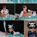 Linked to: craftsandartforchildren.blogspot.com/2013/07/homemade-no-sew-pirate-costume.html