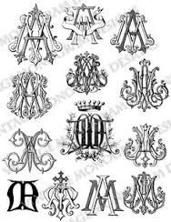 Image result for AA monogram