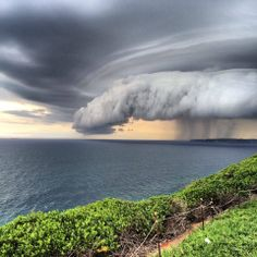 Posted by my friend Linda in Merewether, Australia. She retired and lives in Australia now How To Take Photos, Great Photos, Dame Nature, Storm Front, Newcastle Nsw, Storm Clouds, Ocean Beach, Beautiful World, Mother Nature