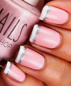 Lite pink and white