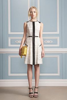 Jason Wu resort panel shift dress as favoured by the honorable Michelle Obama