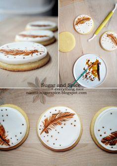 Rustic Wedding Cookies [Tutorial]