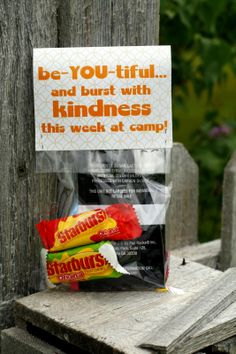 strenght of youth handout ideas | girl's camp handouts!