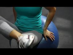 Exercise Ball Exercises to Loosen the Hip Abductor Muscles : Muscles Strengthening & Stretching