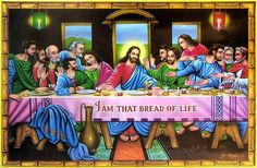 Jesus Christ - The Last Supper (Reprint on Paper - Unframed)<p>In Christianity, the Last Supper was the last meal that Jesus Christ shared with his Twelve Apostles, before his death. The Last Supper has been the most celebrated incident in Christianity, being the subject of many paintings, discussions and spiritual discourses. The most famous recreation of the Last Supper has been Leonardo da Vinci's painting, which hangs even today in the Louvre Museum, Paris. </p><p>Sharing bread and wine…