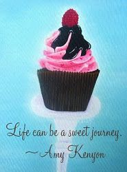 I love Amy's work! Cupcake Quotes, Cupcake Art, Cupcake Cakes, Cupcake Photography, Sisters Art, Scrapbook Journal, Yummy Cupcakes, Sweet Life, Cup Cakes