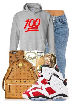 2cd84daa066085 by ray-royals ❤ liked on Polyvore featuring MCM and NIKE Swag