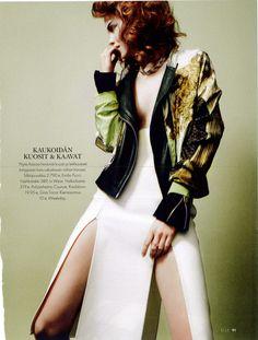 Magazine ELLE skirt by POHJANHEIMO 2013