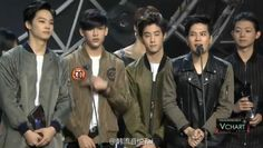 "EXO, f(x), T-ara, Epik High, GOT7, and More Win Awards at ""3rd YinYueTai V-Chart Awards"" 