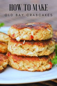 Fish Recipes, Seafood Recipes, Cake Recipes, Crab Cakes Recipe Best, Potato Recipes, Vegetable Recipes, Beef Recipes, Vegetarian Recipes, Food Cakes