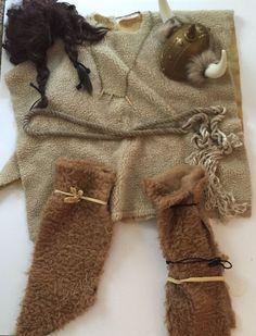 Viking Costume Mens Medieval Barbarian Warrior Adult Halloween Mostly Handmade