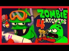 ✔ ЧИПОЛИО ИЗ ЗОМБИ - Zombie Catchers#4 Мультик ИГРА для Детей НОВАЯ СЕРИЯ ✔