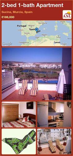 2-bed 1-bath Apartment in Sucina, Murcia, Spain ►€186,000 #PropertyForSaleInSpain