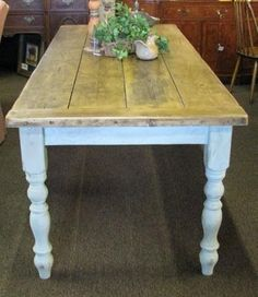 French Farmhouse Kitchen Table more zinc tops and crates | furniture diy | pinterest | designs