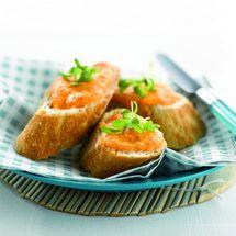 Recepten - Stokbrood met tomaten-parmezaanpesto