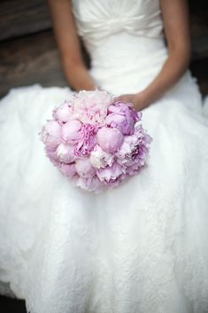 Textured - The Prettiest Peony Wedding Bouquets - Southernliving. Mixing buds with peony blooms creates a lush texture. Peony Bouquet Wedding, Peonies Bouquet, Wedding Flower Arrangements, Bridal Flowers, Pink Peonies, Floral Wedding, Buy Peonies, Blue Bouquet, Yellow Roses