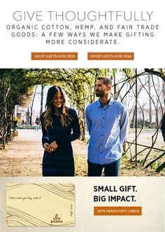 Photo: Put some extra love in your gifts this year and give thoughtfully to your friend, family, and the environment. Browse our sustainable products at www.prana.com.   #holidayshopping #givethoughtfully #sustainability