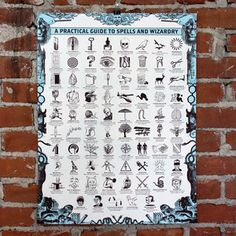 Spells And Wizardry 18x24 now featured on Fab.