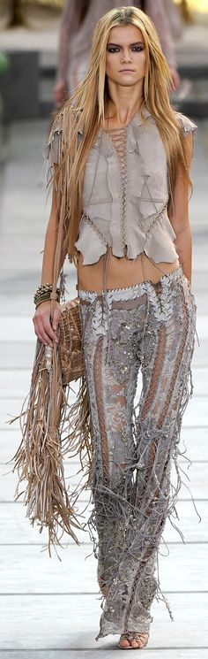 www.fashion2dream.com Native American Influence - Cavalli
