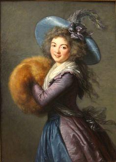 Portrait of Madame Mole Reymond by Elisabeth-Louise Vigee-Le Brun, 1786 France. the Louvre