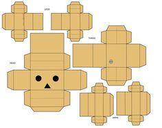 Anime Papercraft Templates   Creative Commons Attribution-Noncommercial-No Derivative Works 3.0 ...