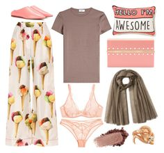 """Hello, I'm Awesome"" by cherieaustin ❤ liked on Polyvore featuring Agent Provocateur, Dolce&Gabbana, Jil Sander, Acne Studios, Charlotte Olympia and Gucci"