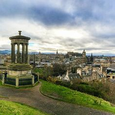 #Edinburgh, #Scotland is charming and historic, and an excellent spot for the holidays. Photo courtesy of brianthio on Instagram.