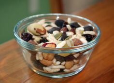 Healthy Trail Mix Recipe  Perfect for my office! i need to munch on snacks constantly!