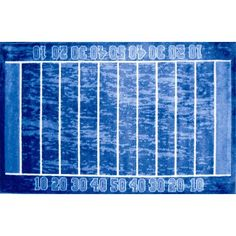 Fun Rugs childrens rugs - Supreme Gridiron Sports Rug - x - 3958 - Plain and Simple Deals - no frills, just deals Sports Rug, Childrens Rugs, Rectangular Rugs, Cool Rugs, Blue Area Rugs, Rug Size, Supreme, Kids Rugs, Fun