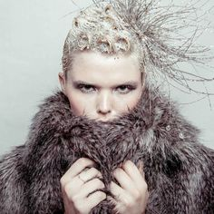 Wintery look for IT&LY HAIRFASHION