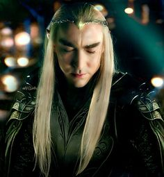 Thranduil, as Legolas departs for the very last time, He has loved, and lost, too much to remain unmoved.