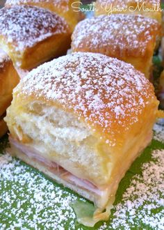 Monte Cristo Party Sliders for the Super Bowl - LifetimeMoms