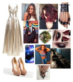 """Going to the Hall Of Fame 2017👼Mandy👼 Read Description 👼"" by robertsonserina ❤ liked on Polyvore featuring WWE, Christian Louboutin and La Mania"