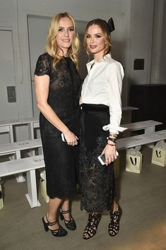 Georgina Chapman Photos Photos - Fashion designers Keren Craig (L) and Georgina Chapman attend the Marchesa fashion show during, New York Fashion Week: The Shows at Gallery 2, Skylight Clarkson Sq on February 15, 2017 in New York City. - Marchesa - Front Row - February 2017 - New York Fashion Week: The Shows