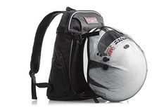 d7a2b6fcf Water Resistant Motorcycle Travel Backpack with Helmet Holder - durable,  lightweight TSA-compliant carry on