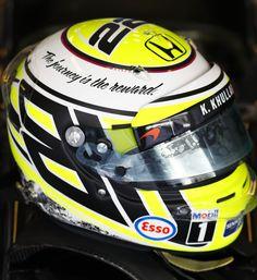 Jenson Button Race Helmet   Abu Dhabi 2016
