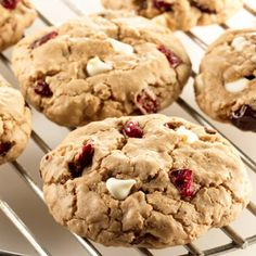 Cranberry White Chocolate Spice Cookies: A little bit of everything—tart, sweet, spicy, chewy—a practically perfect cookie.