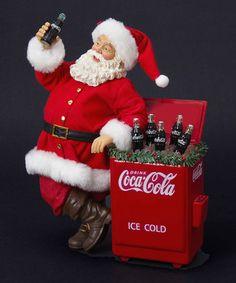Loving this Coca-Cola Santa Cooler Figurine on #zulily! #zulilyfinds