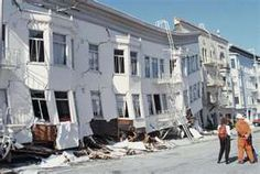 San Francisco earthquake 1989~ that is the lower level smashed.