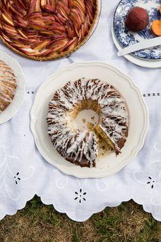 Lemon and Lavender Yogurt Cake - From My Dining Table by Skye McAlpine