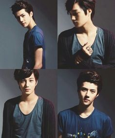 Sehun and Kai.