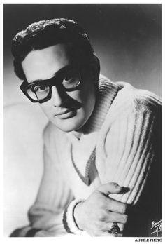 Buddy Holly in FAOSA (sometimes misspelled FAOSIA) eye glasses eyeglasses frames