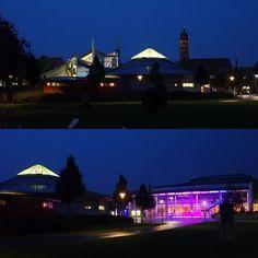 Amberg bei Nacht - Kurfürstenbad