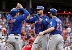 The New York Mets are back in the Major League Baseball playoffs for the first time since 2006, after clinching the National League East division championship on Saturday.A first-inning grand slam by first baseman Lucas Duda set them on the path to a 10-2 victory over the Cincinnati Reds and t