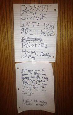This kid got it right!
