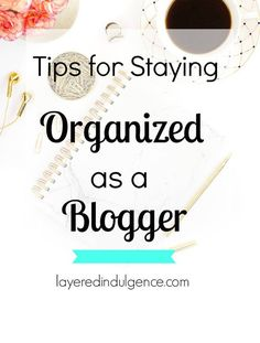 Organization is key when you're a blogger in order to keep on top of your biz! These organization and blogging tips will ensure everything on your to-do list gets done, plus with tip #4, you'll never run out of topics to write about for your blog! Click t