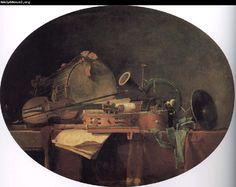by Jean Baptiste Simeon Chardin